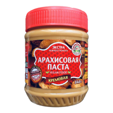 Арахисовая паста Кремовая