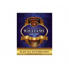 """WILLIAMS """"Earl Grey"""" пакетированный черный чай с бергамотом в фольгированных конвертах 2г*50пак"""