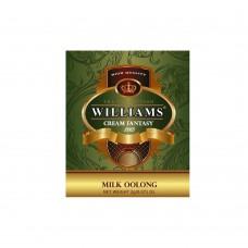 """WILLIAMS """"Milk Oolong"""" пакетированный зеленый китайский премиальный чай со сливочно-карамельным ароматом в фольгированных конвертах 2г*50пак"""
