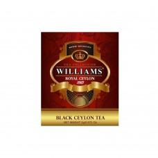 """WILLIAMS """"Royal Ceylon"""" пакетированный черный чай в фольгированных конвертах 2г*50пак"""