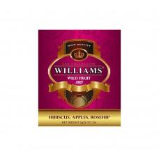 """WILLIAMS """"Wild Fruit"""" пакетированный фруктовый чай в фольгированных конвертах 2г*50пак"""