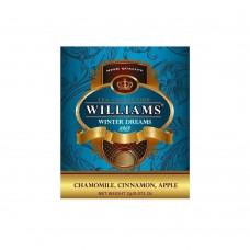 """WILLIAMS """"Winter Dreams"""" пакетированный травяной чай в фольгированных конвертах 2г*50пак"""